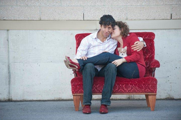 Montecristo Travels couple on red seat